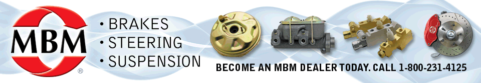 MBM Brakes, Steering, & Suspension